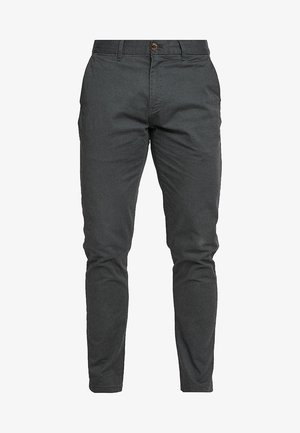 STUART CLASSIC SLIM FIT - Chinot - charcoal