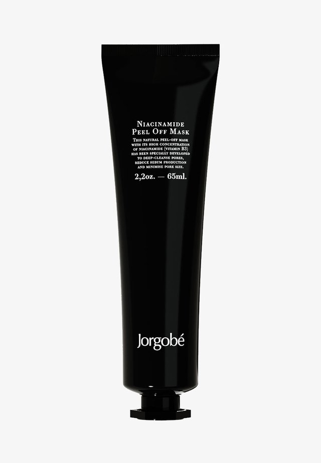 NIACINAMIDE PEEL OFF MASK - Masque visage - black