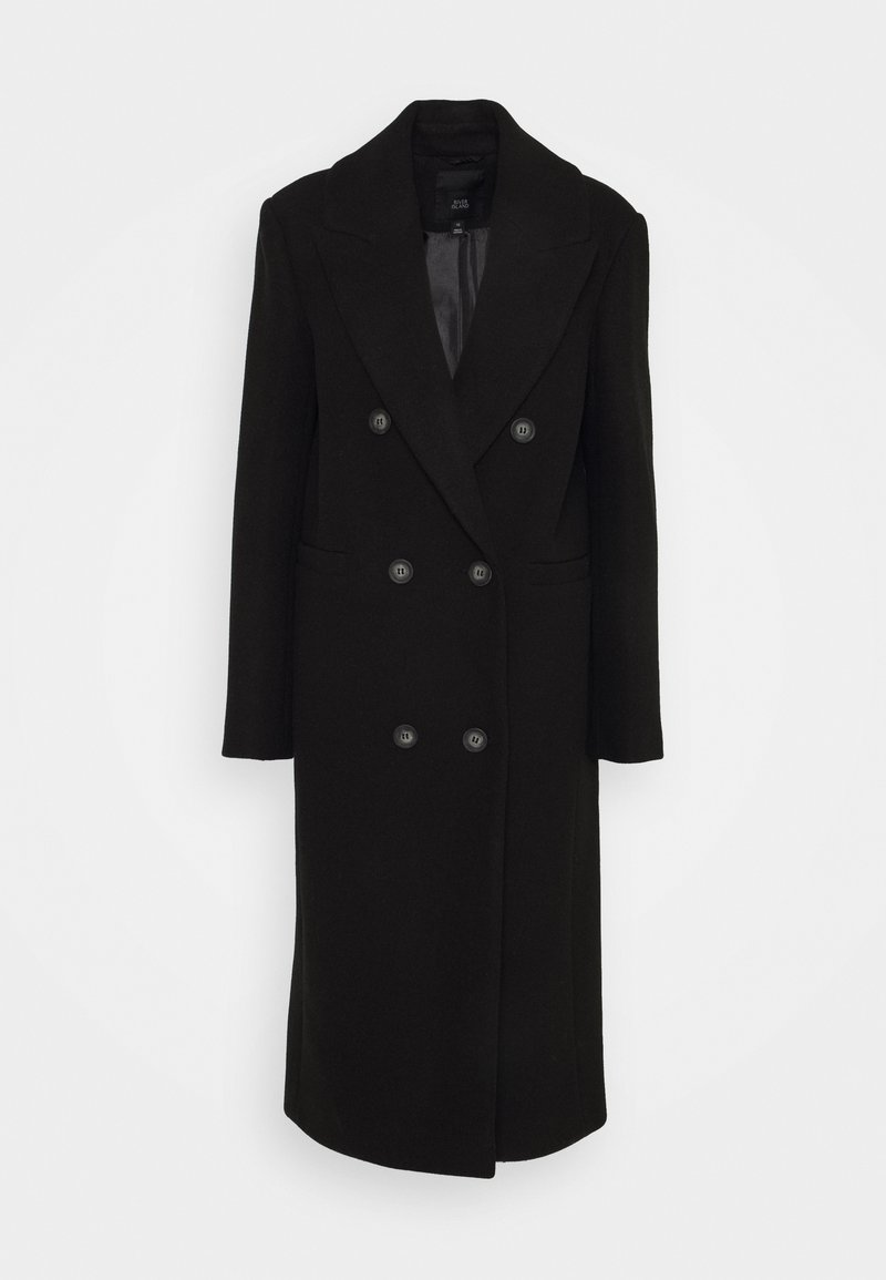 River Island - Klasický kabát - black