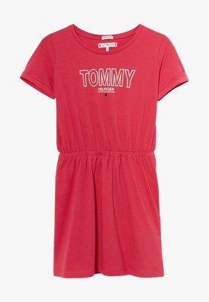 TEE DRESS  - Trikoomekko - pink