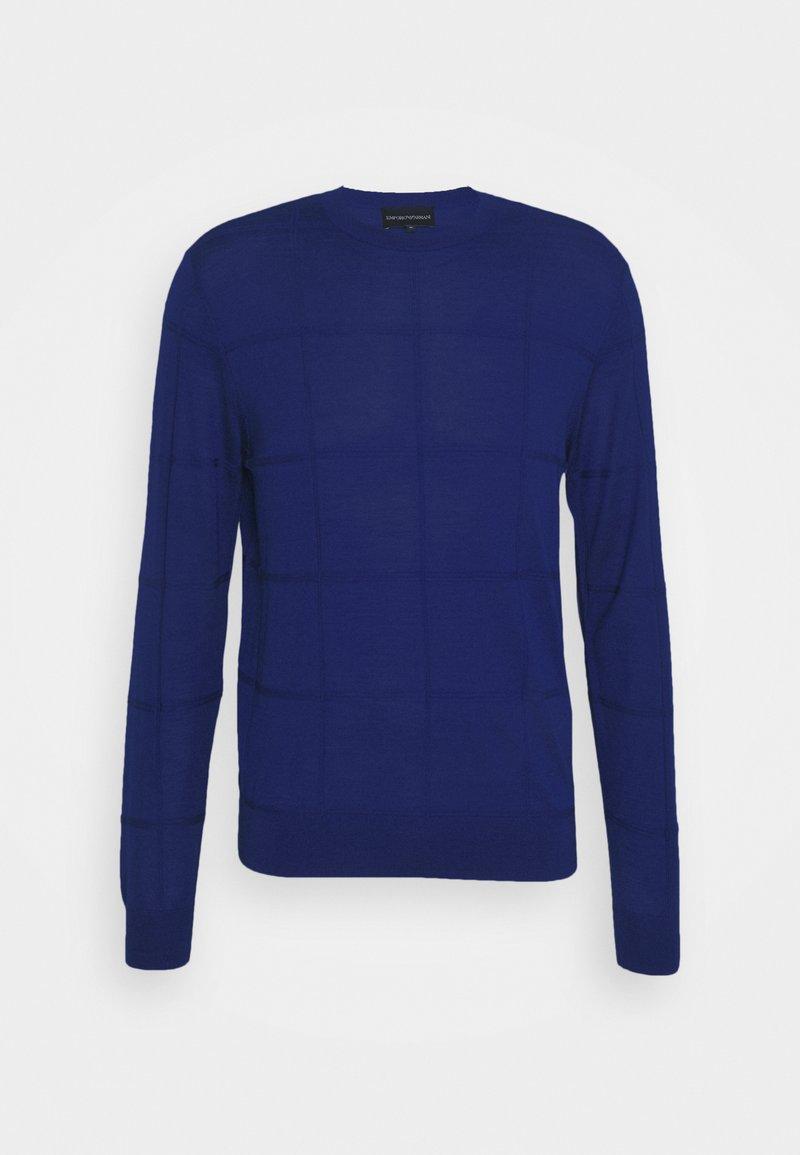 Emporio Armani - Jumper - royal blue