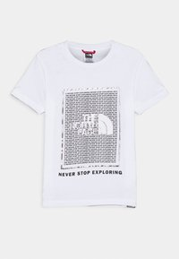 The North Face - GRAPHIC UNISEX - Print T-shirt - white - 0