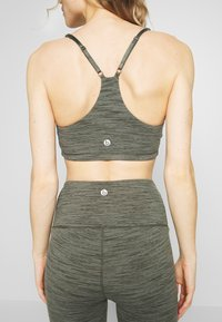 Cotton On Body - GATHERED CROP - Sport BH - khaki heather - 6