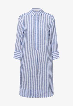 Shirt dress - blau weiß