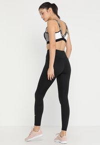 Nike Performance - ONE - Leggings - black/white - 2