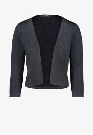 Strickjacke - dark blue/dark blue