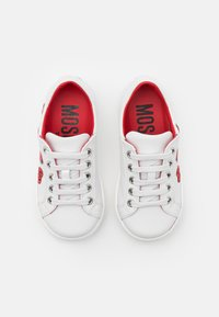 MOSCHINO - EXCLUSIVE UNISEX - Sneakers basse - white - 3