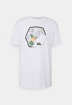 FADING OUT  - Print T-shirt - white