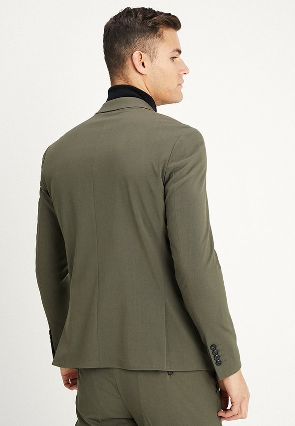 Lindbergh PLAIN SUIT - Garnitur - olive/oliwkowy melanż Odzież Męska MRVG