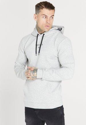 MUSCLE FIT OVERHEAD HOODIE - Sweatshirt - grey marl