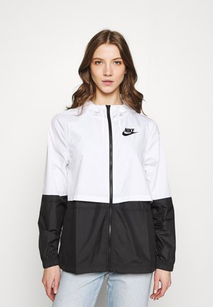 Summer jacket - white/black