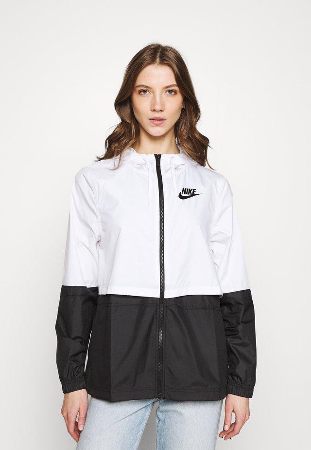 Summer jacket - white/black