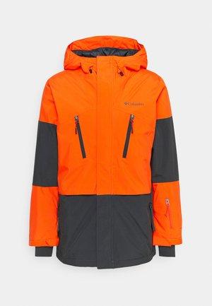 AERIAL ASCENDER™ JACKET - Snowboard jacket - red quartz/shark