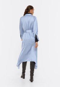 Uterqüe - Shirt dress - blue - 2