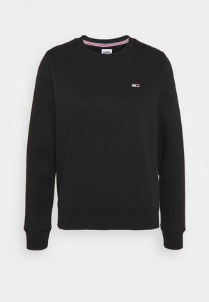 REGULAR C NECK - Sweatshirt - black