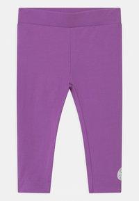 Converse - SCRIPT LOGO SET - Leggings - bright violet - 2