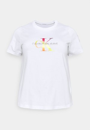 MONOGRAM TEE - T-shirt con stampa - gradient bright white