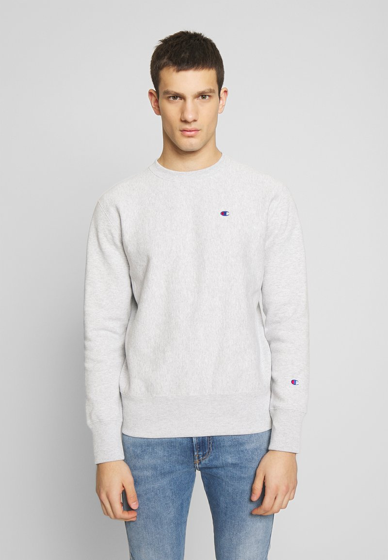 Champion Reverse Weave - BASICS CREWNECK - Sweatshirt - light grey