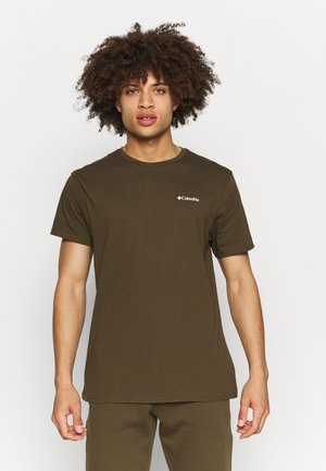 PINE TRAILS™ GRAPHIC TEE - T-shirt print - olive green