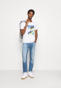 Solid - Print T-shirt - white - 1
