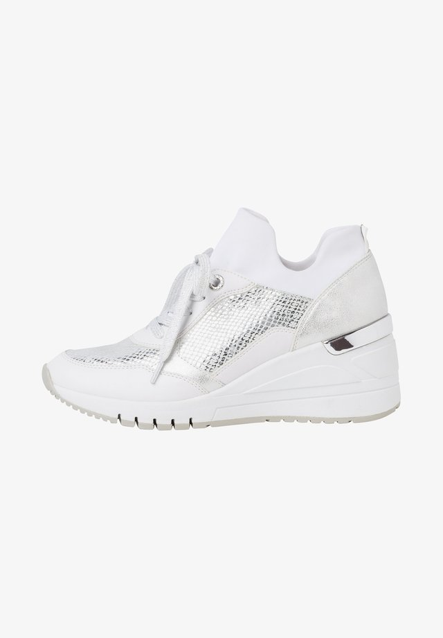 LACE-UP - Sneakers laag - white comb
