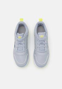 adidas Performance - TENSAUR UNISEX - Zapatillas de entrenamiento - halo silver/crew navy/acid yellow - 3