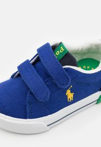 Polo Ralph Lauren - GRAFTYN UNISEX - Sneakers - royal/navy/green/yellow - 5
