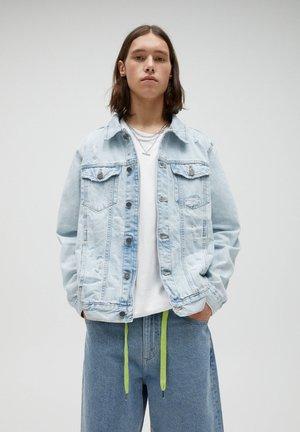 Jeansjacka - blue-grey