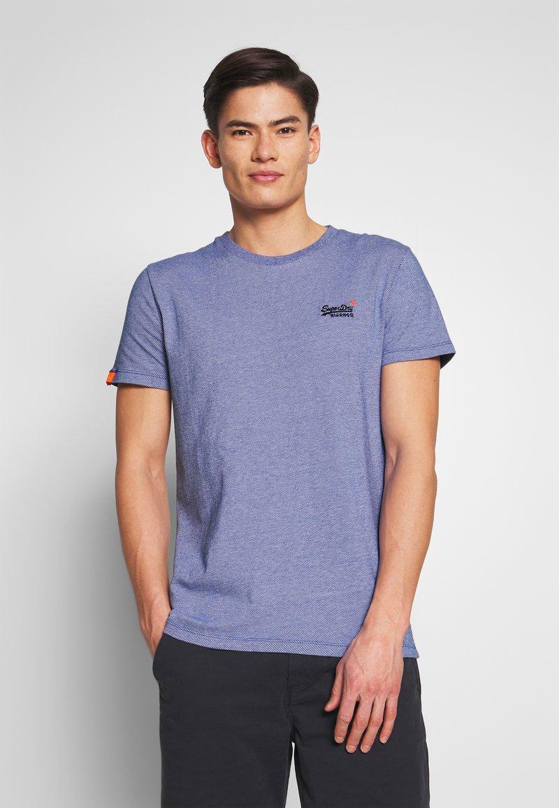 Superdry - VINTAGE CREW - Basic T-shirt - cobalt