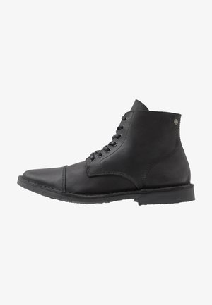 JFWLEE BOOT  - Lace-up ankle boots - black