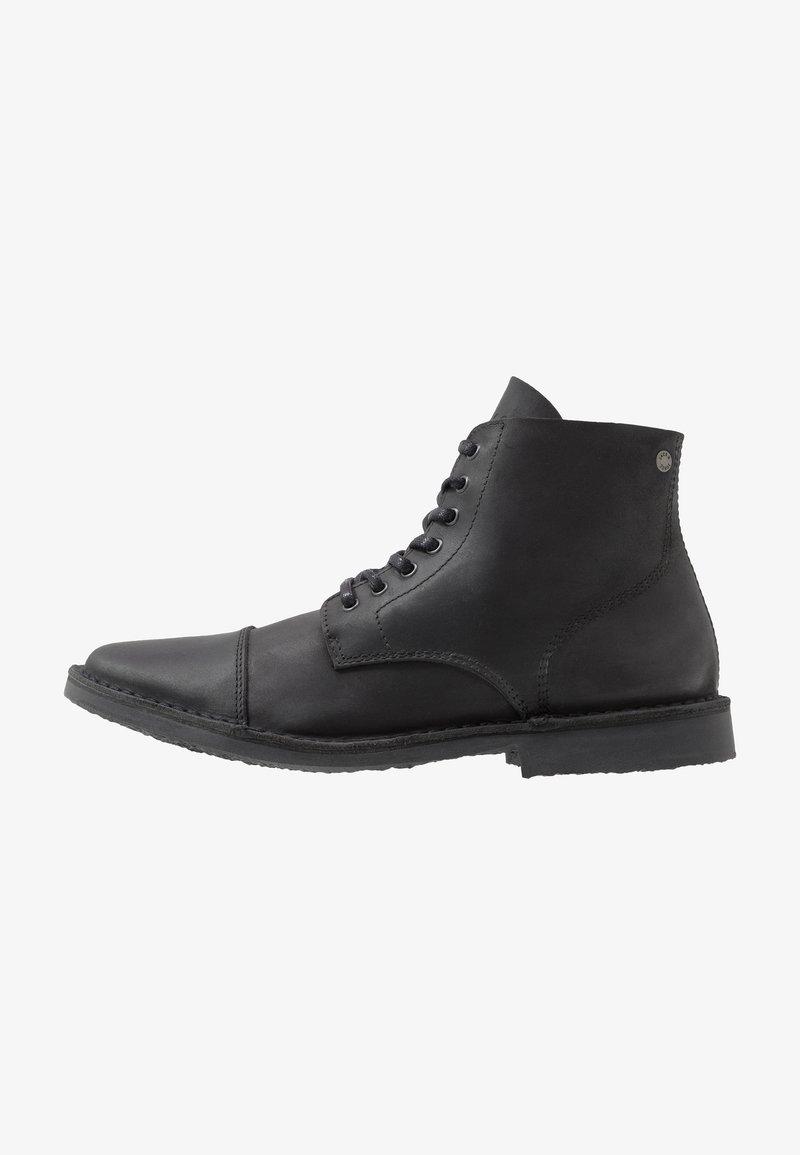 Jack & Jones - JFWLEE BOOT  - Snørestøvletter - black