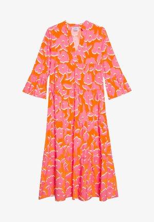 DRESS - Maxikjole - orange/pink
