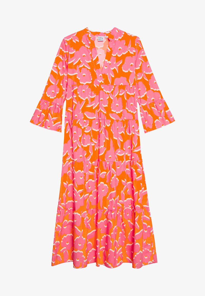 Emily van den Bergh - DRESS - Maxikjole - orange/pink