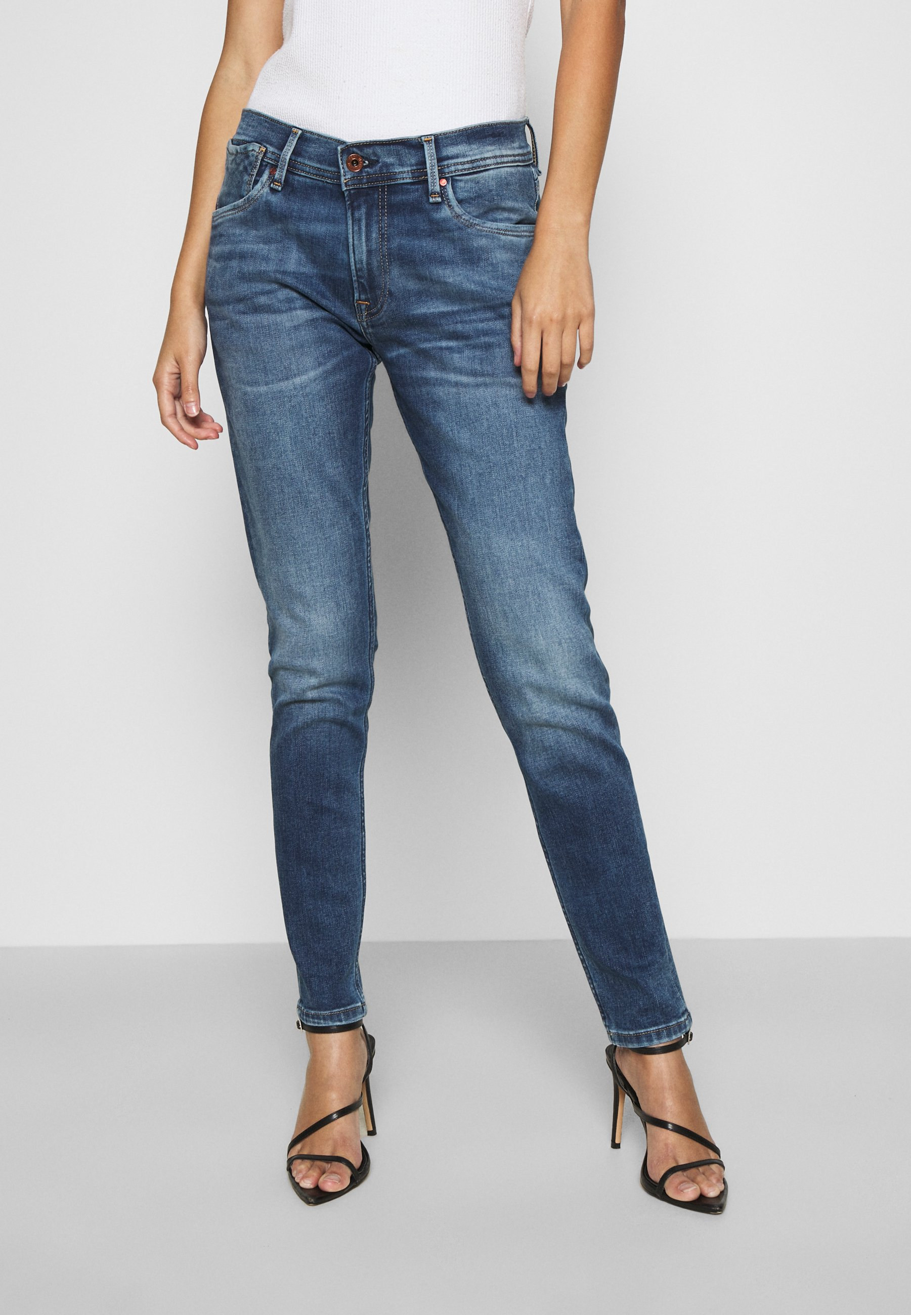 Pepe Jeans Joey Slim Fit Jeans Blue Denim Zalando Ie