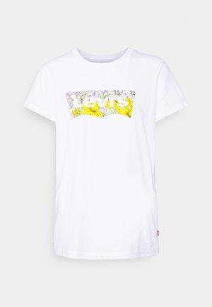 PERFECT TEE - T-shirt imprimé - white