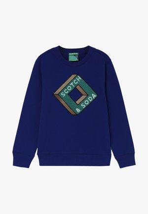 CREWNECK WITH ARTWORK - Sweatshirt - star blue