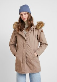 ONLY - ONLMANDY - Parka - taupe gray - 0