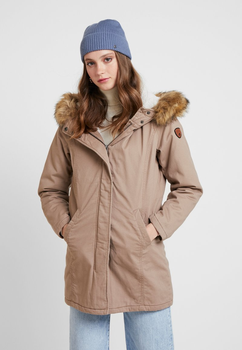 ONLY - ONLMANDY - Parka - taupe gray