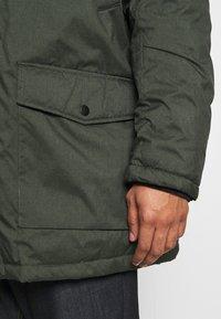 Jack & Jones - JJSKY JACKET - Winter coat - dark green melange - 6