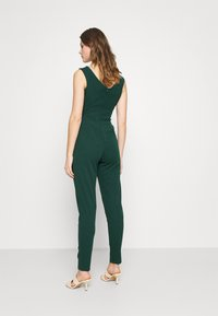 WAL G. - HEIDI LOW V NECK - Jumpsuit - forest green - 2