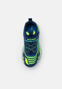 Skechers - THERMO FLASH - Tenisky - navy/lime/blue - 3