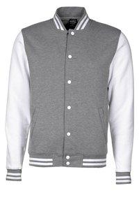 Color Industry - CONTRAST COLLEGE - Lehká bunda - grey/white - 0