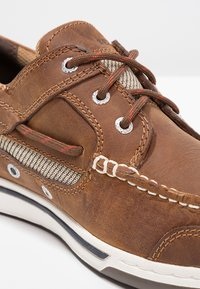 Sebago - TRITON - Boat shoes - walnut - 5