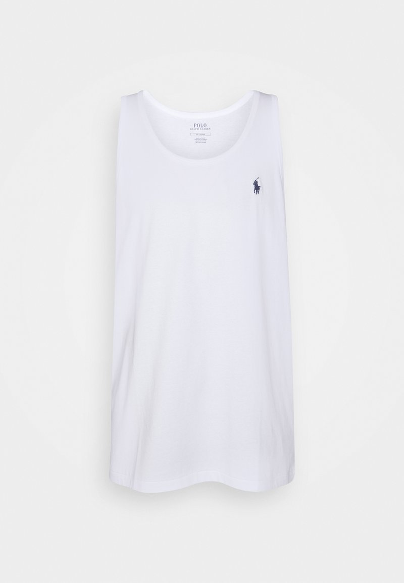Polo Ralph Lauren - WASHED JERSEY TANK - Topper - white