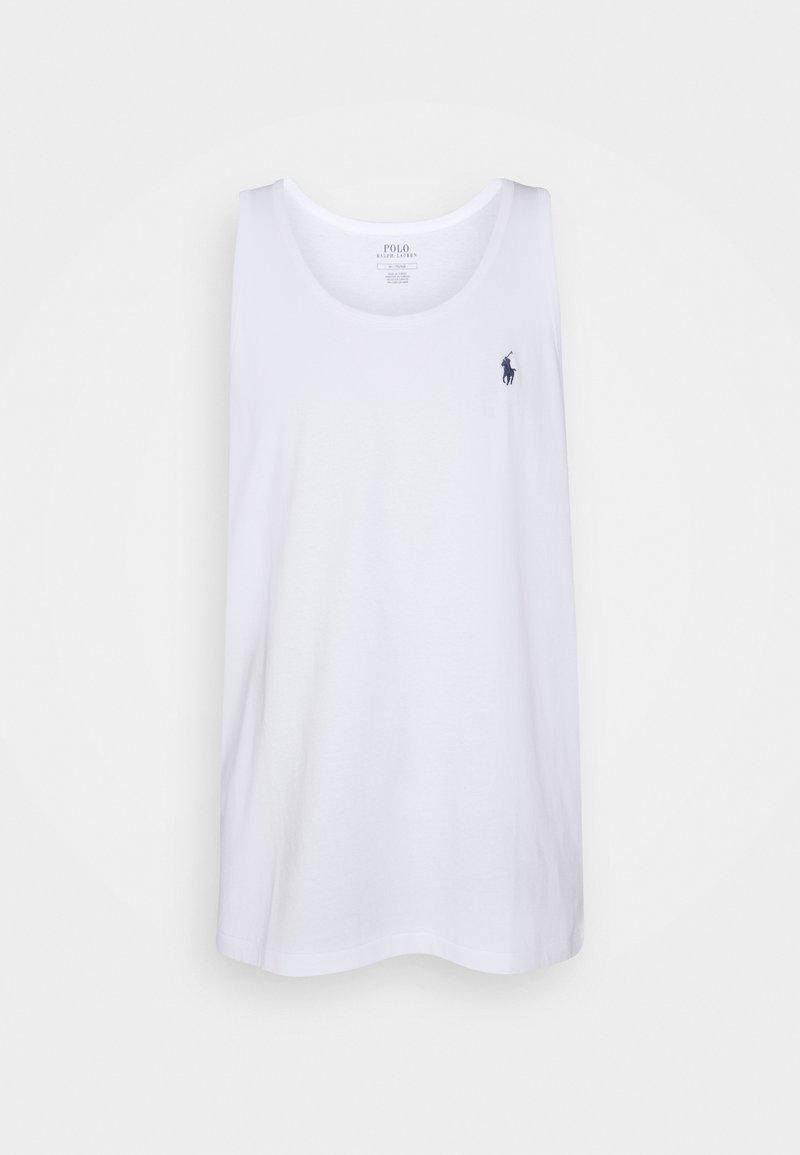 Polo Ralph Lauren - WASHED JERSEY TANK - Débardeur - white
