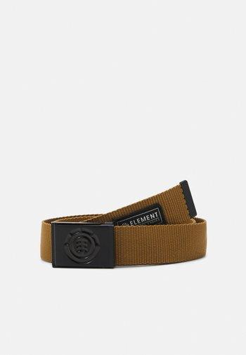 BEYOND BELT UNISEX - Belt - goldenbrown