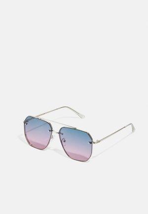 SUNGLASSES TIMOR UNISEX - Sunglasses - black/silver-coloured