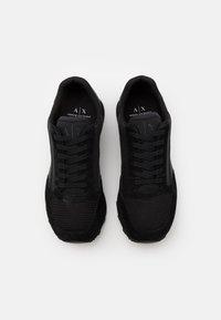 Armani Exchange - OSAKA  - Sneakersy niskie - black - 3