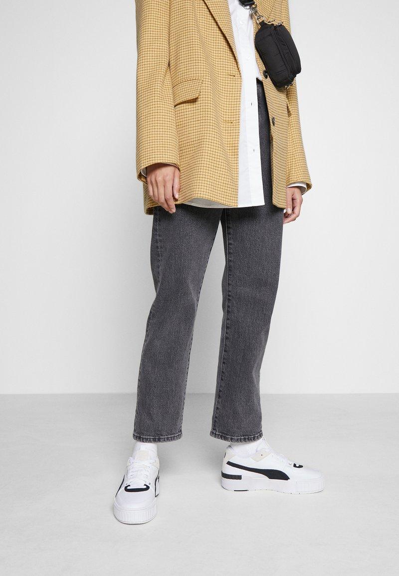 Puma - CALI SPORT HERITAGE  - Sneakers laag - white/black