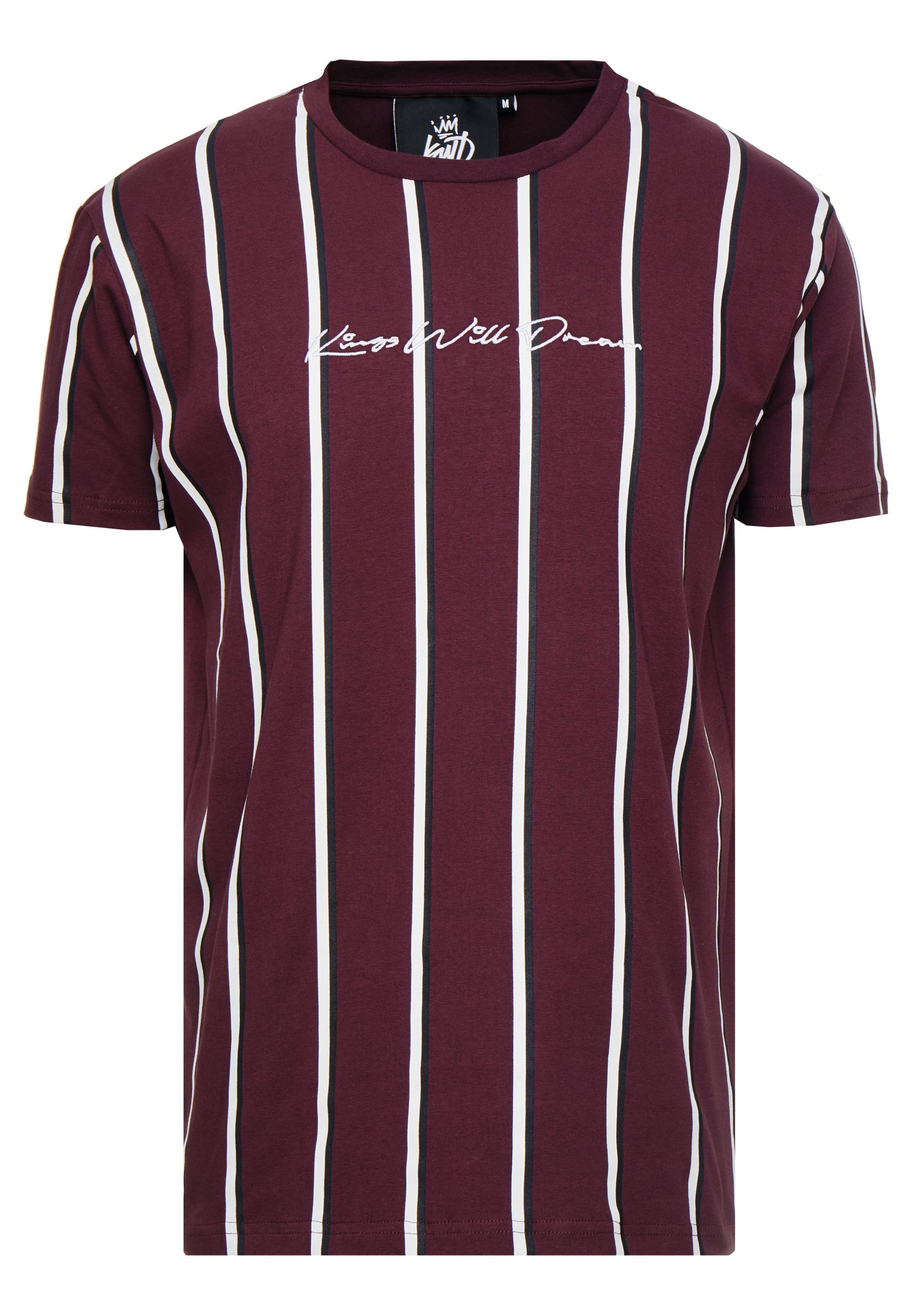 Kings Will Dream T-shirts Med Print - Burgundy/white/navy/vinrød